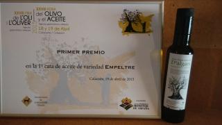Primer premi fira calaceit 2015